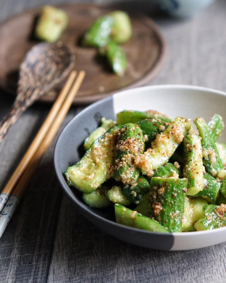pantryno7 ippudo copycat cucumber salad recipe