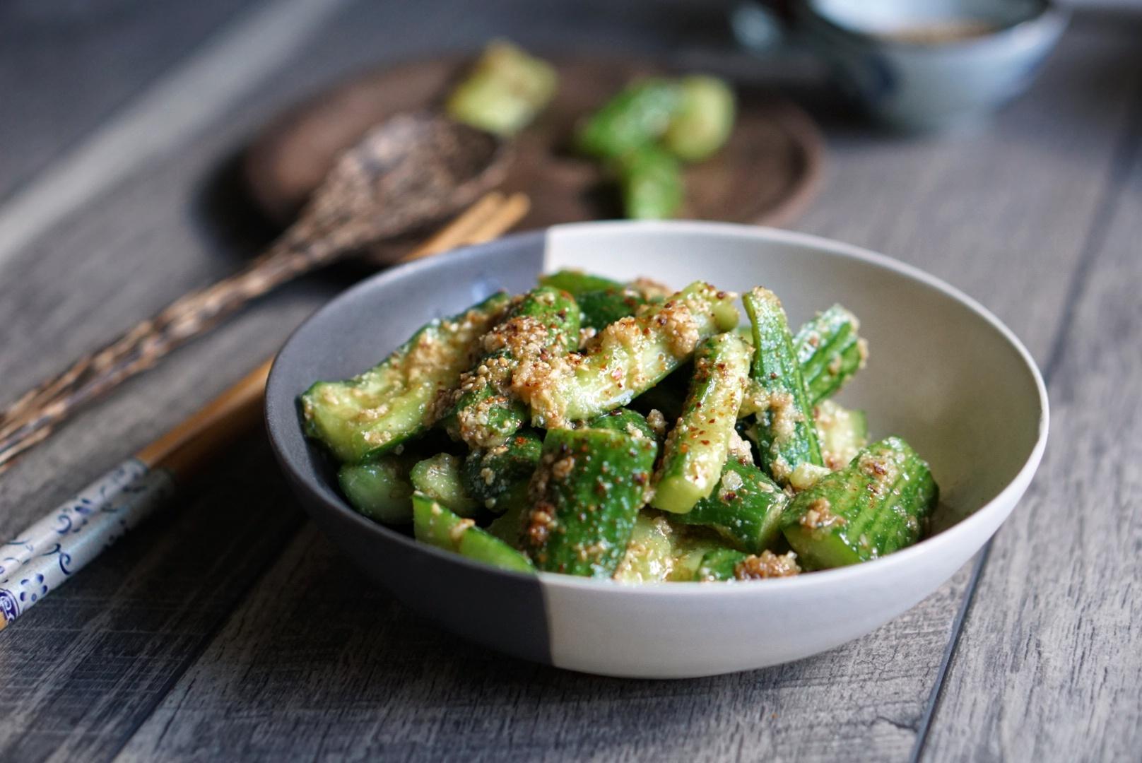 Ippudo Cucumber Salad