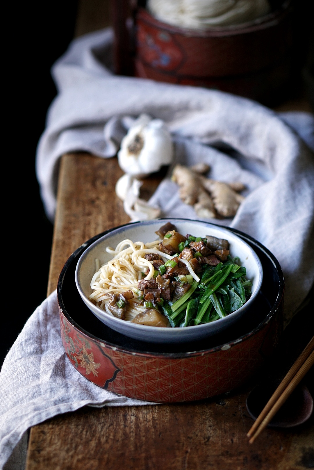 Pantryno7 eggplant pork noodles