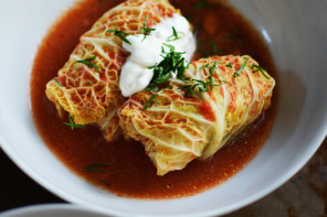 Karina's Stuffed Cabbage Rolls