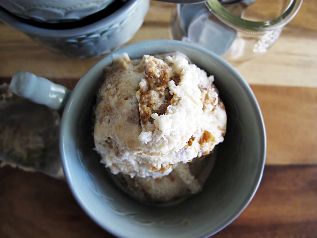 Maple Gingersnap Ice Cream