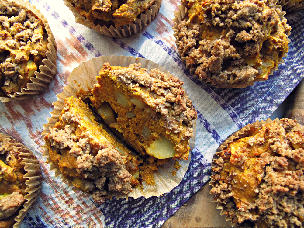 Pumpkin & Apple Muffins