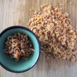 diced dried shrimp