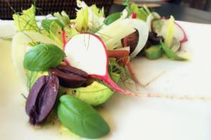 Favorite Salad with Ponzu Lemon Dressing