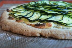 Zoe's Zucchini Tart